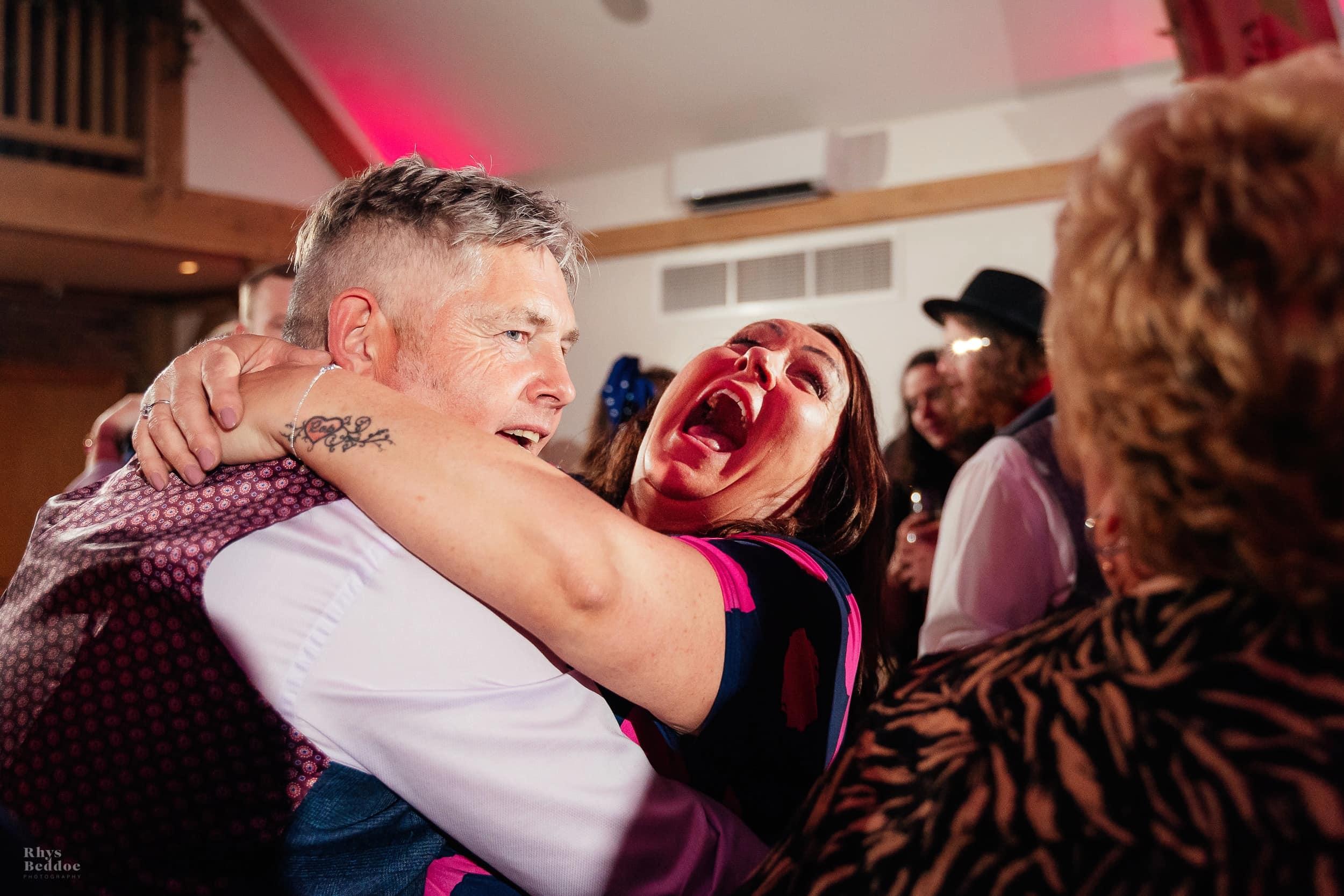 Dancing captured by myth barn wedding photographer