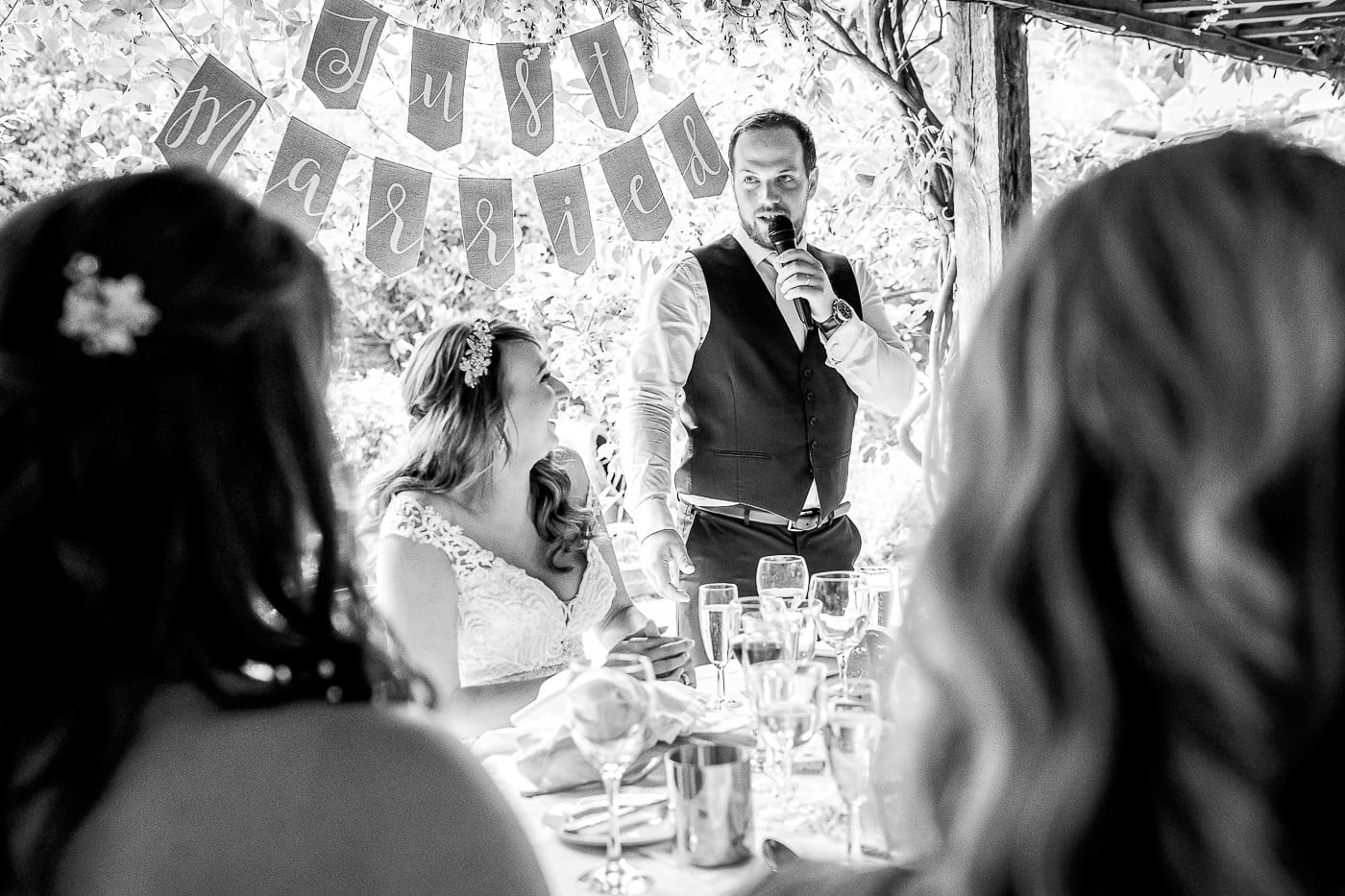 funny speech by the groom